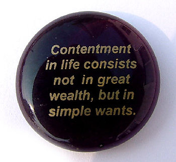 Contentment.button