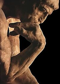 Thinker_Thinking_Rodin_Profile