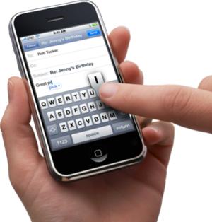 Iphone-texting