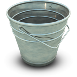 Empty-Bucket-icon